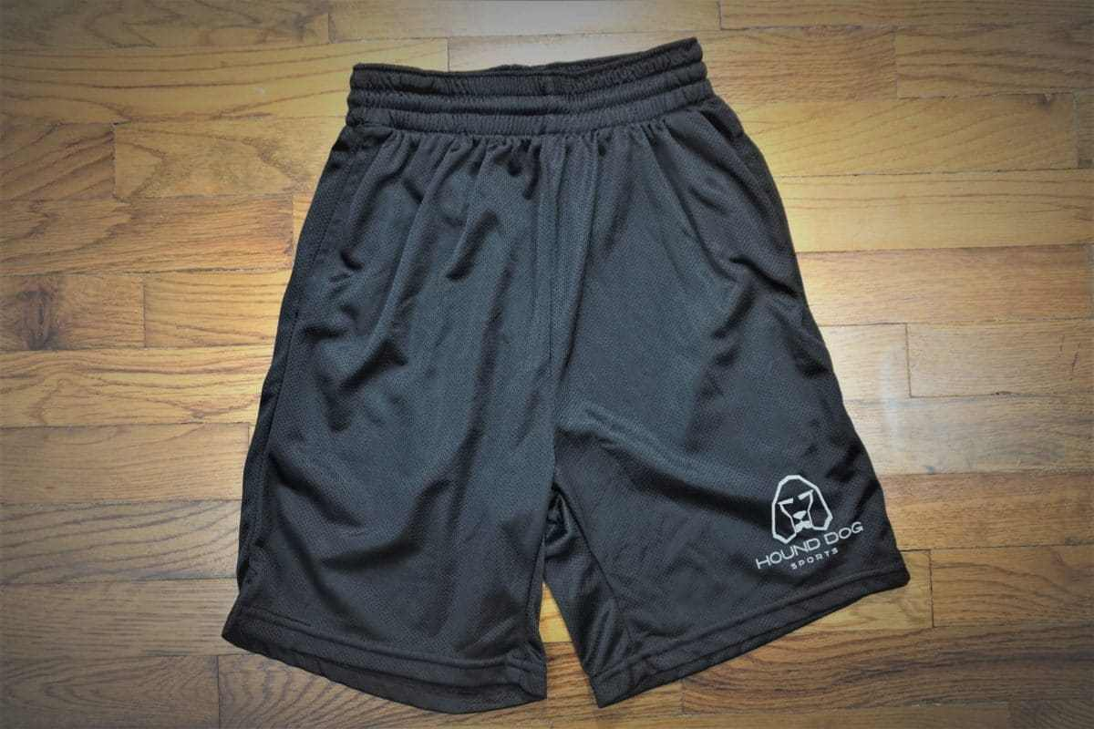Hound Dog Sports Athletic Mesh Shorts Black