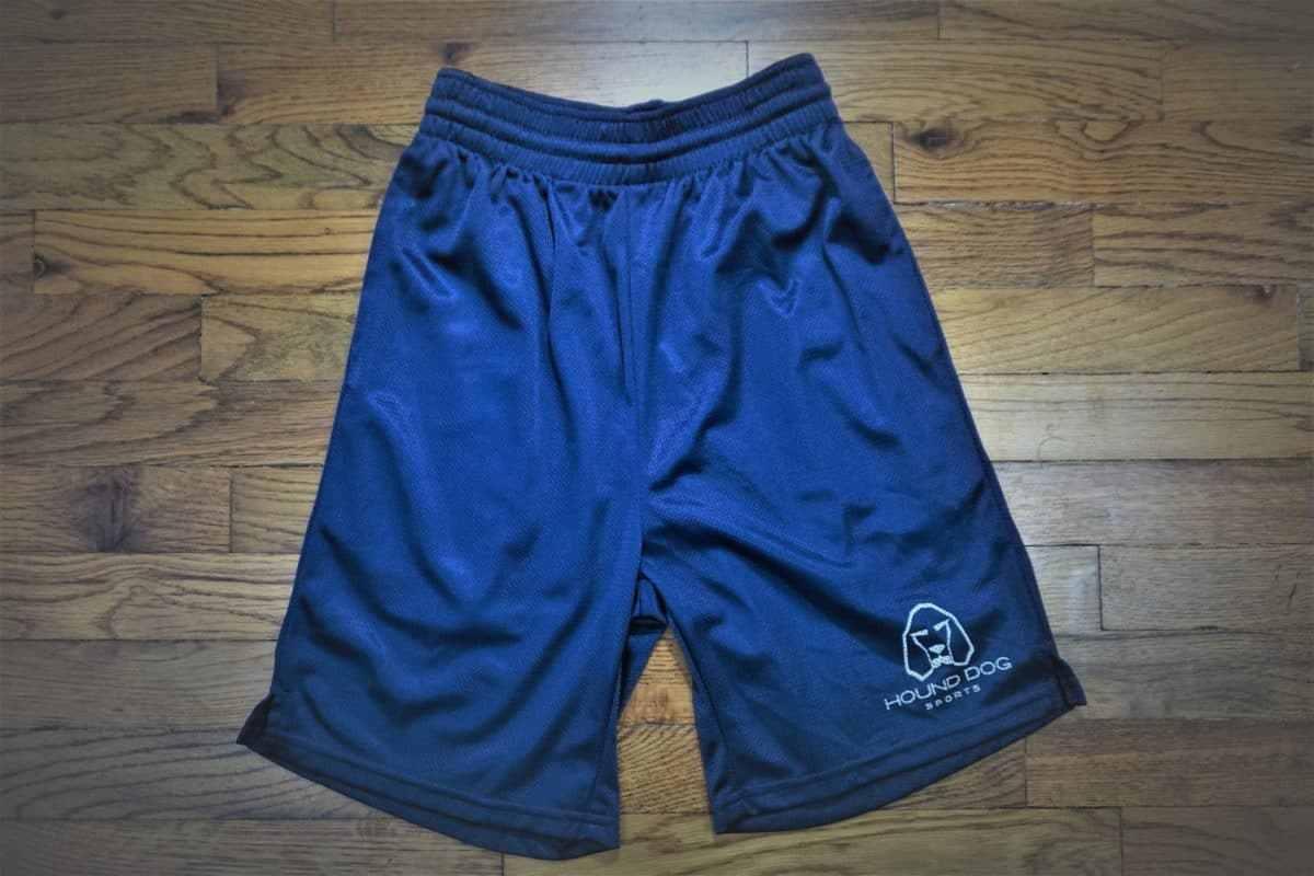 Hound Dog Sports Athletic Mesh Shorts Blue