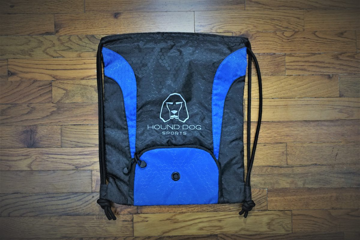 Hound Dog Sports Cinch Bag Black Blue
