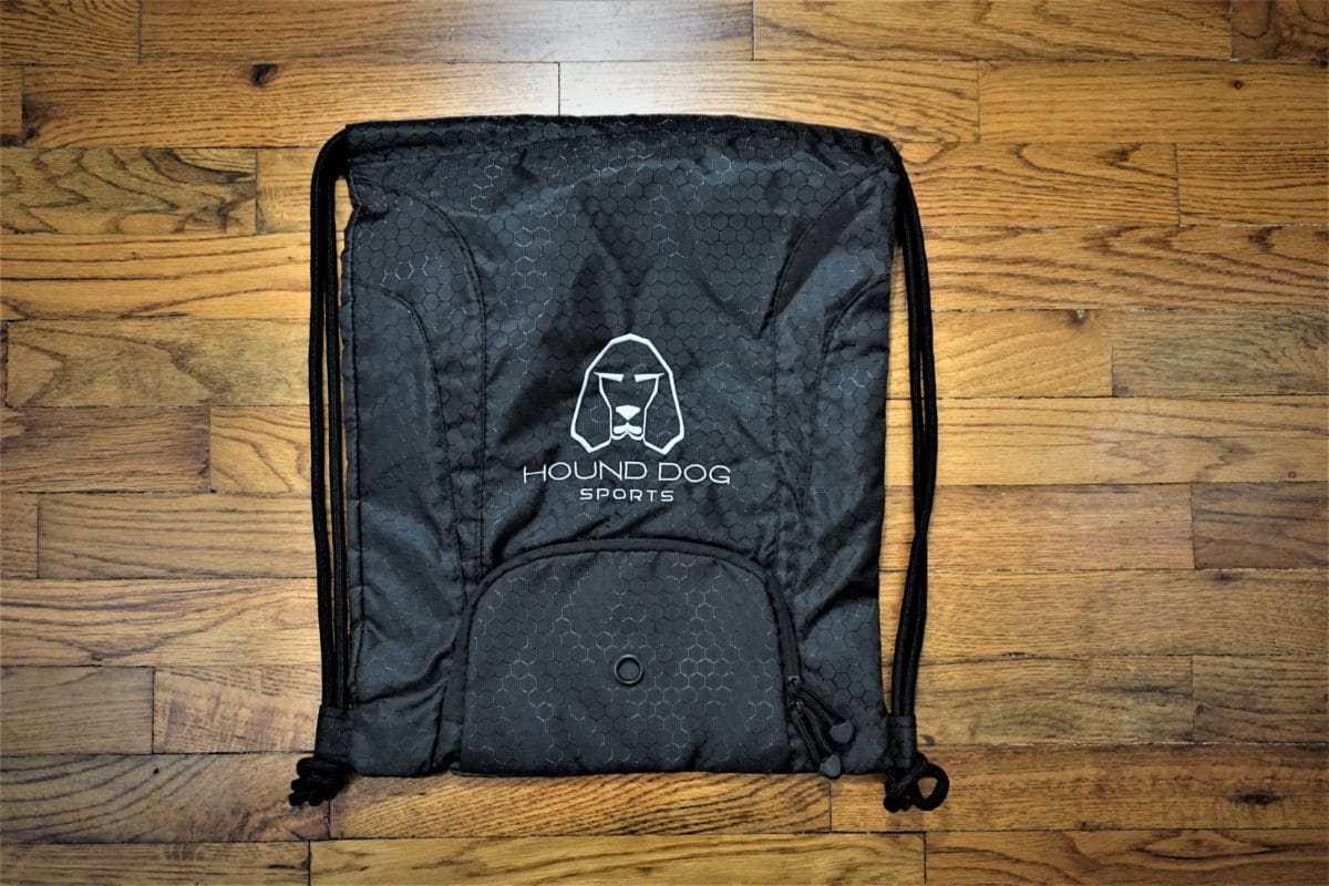Hound Dog Sports Cinch Bag Black