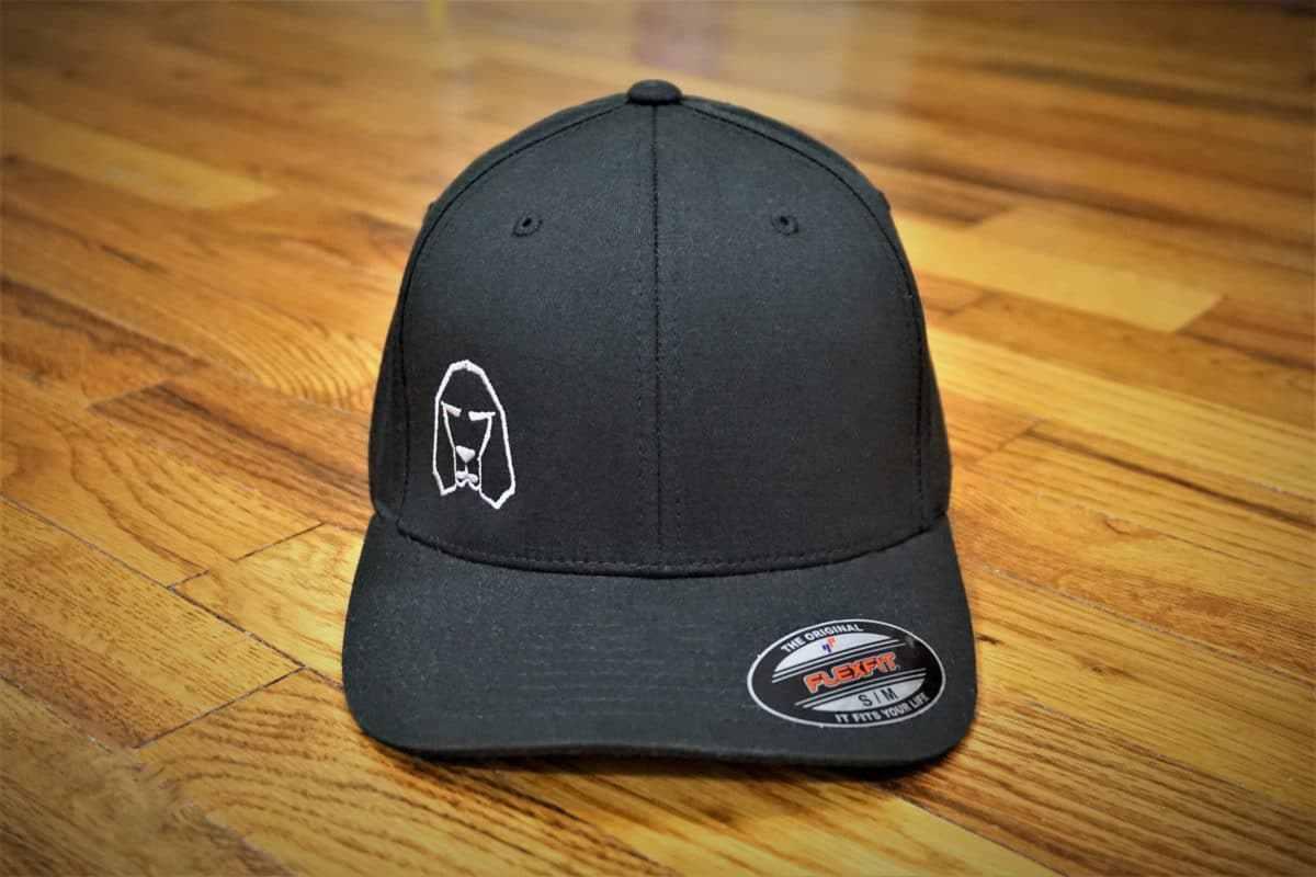 Hound Dog Sports Flexfit Hat Black