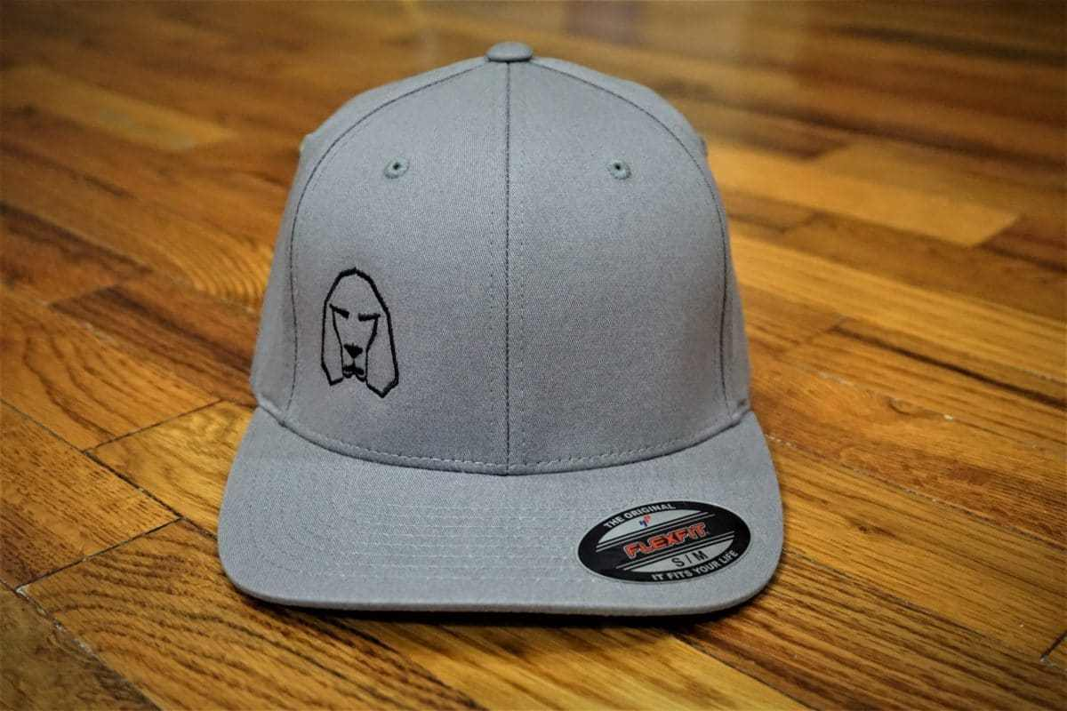Hound Dog Sports Flexfit Hat Gray