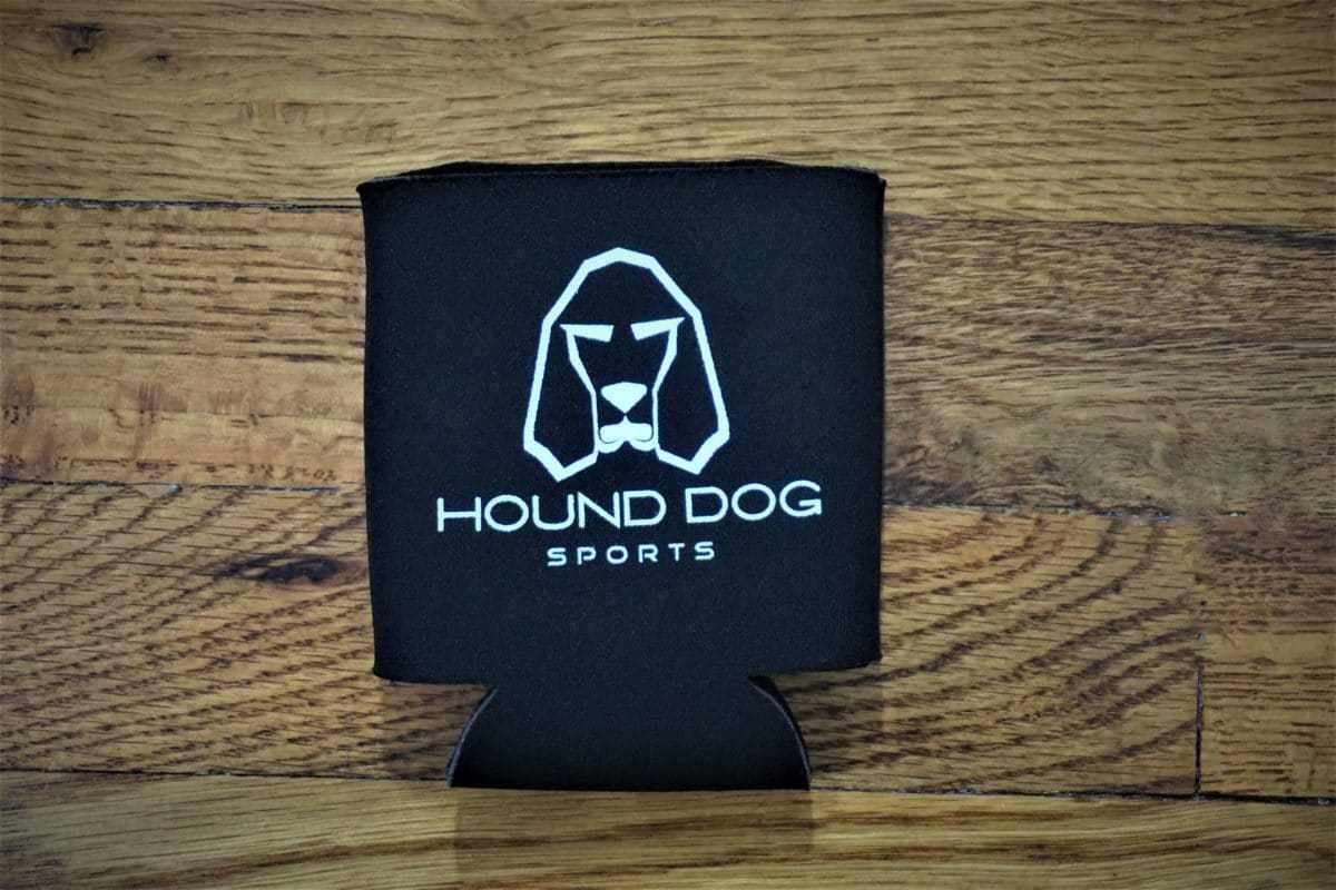 Hound Dog Sports Koozie Black