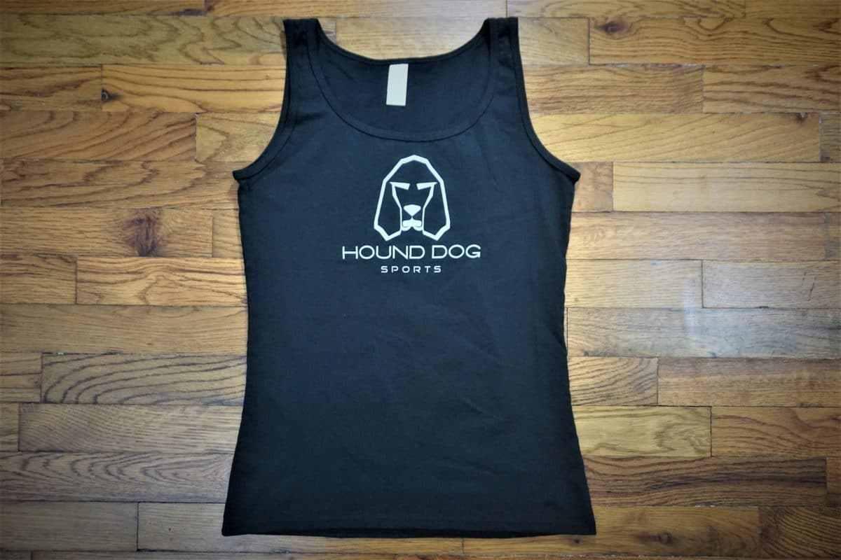 Hound Dog Sports Ladies Tank Black