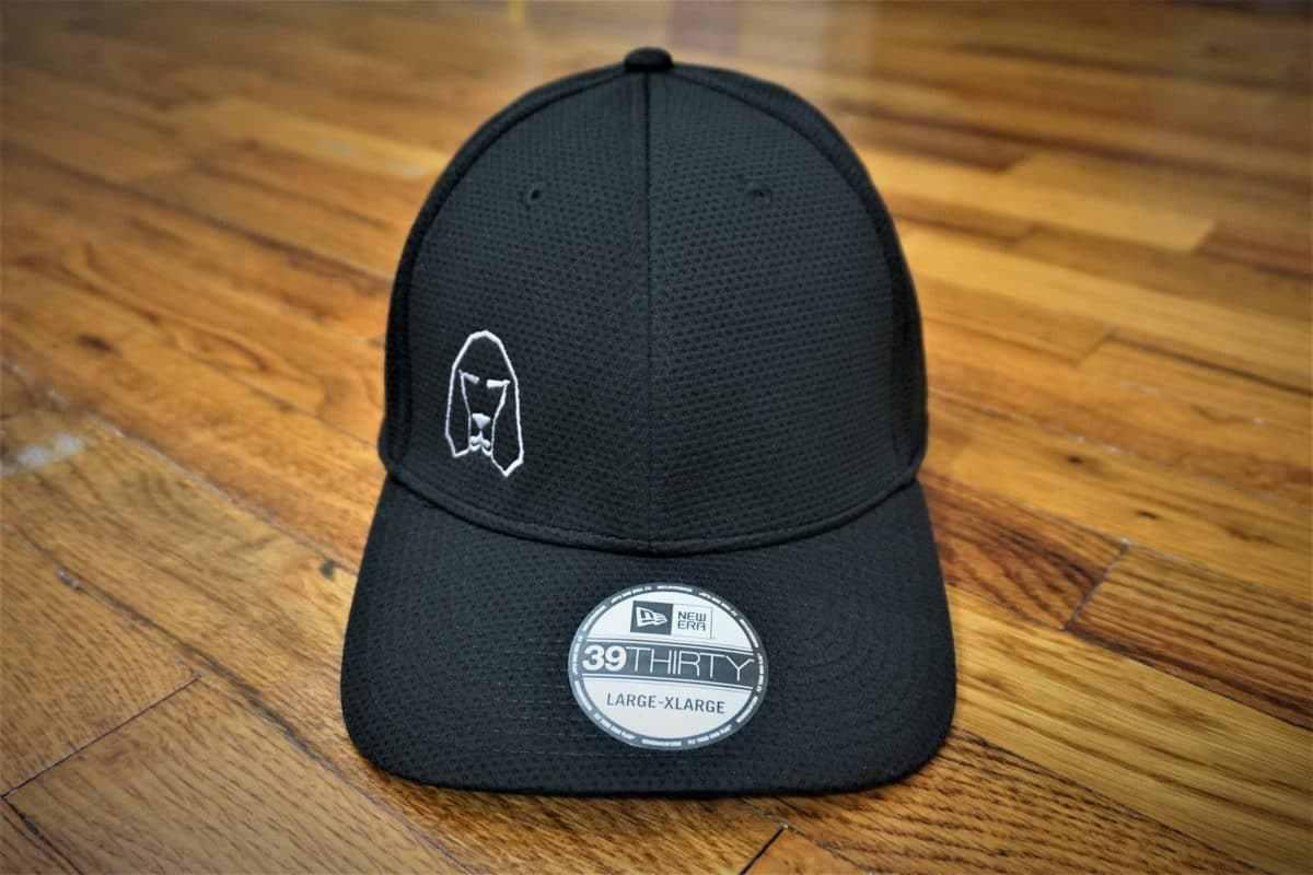 Hound Dog Sports Polyester Athletic Hat Black