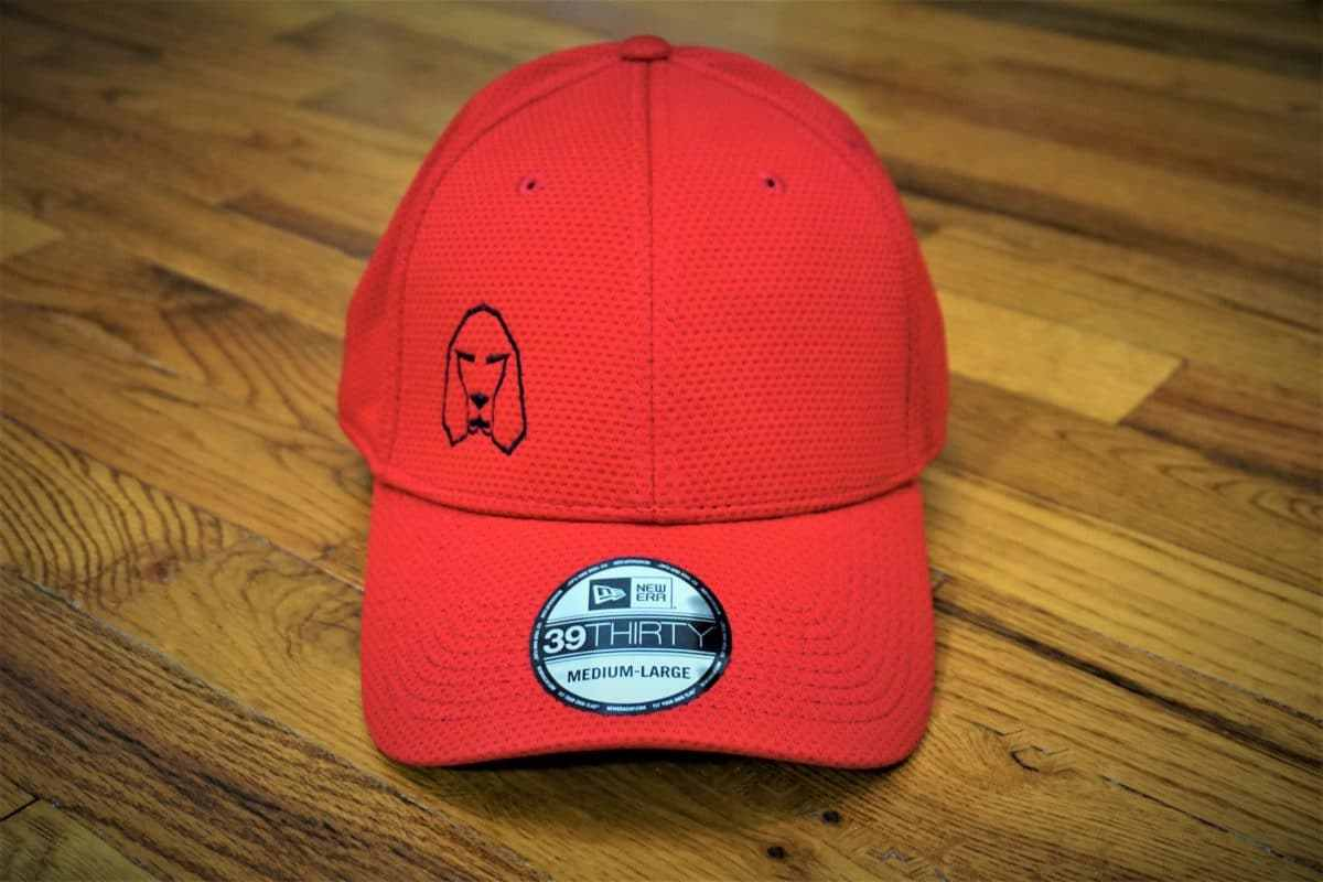 Hound Dog Sports Polyester Athletic Hat Red