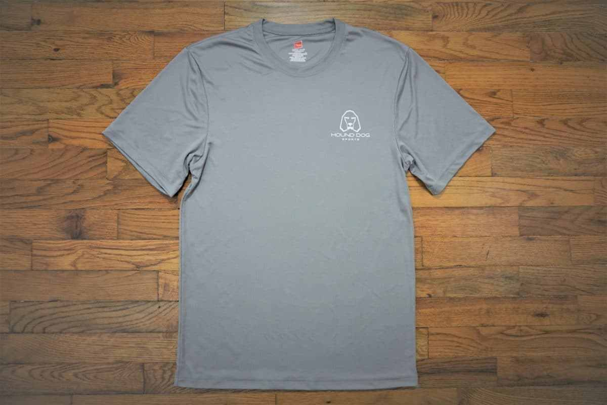 Hound Dog Sports Polyester Shirt Gray