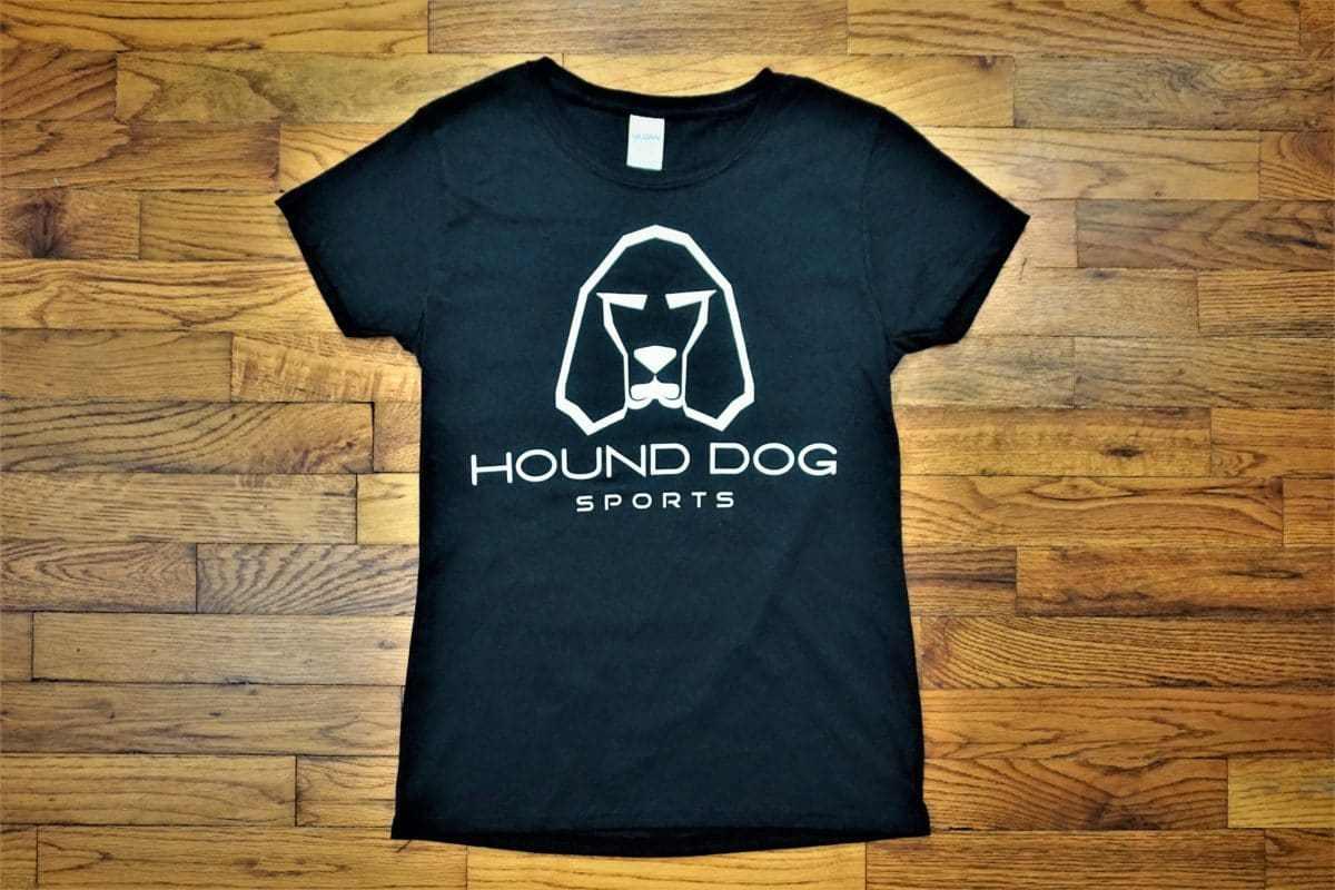 OG Hound Dog Sports Ladies T-Shirt Black