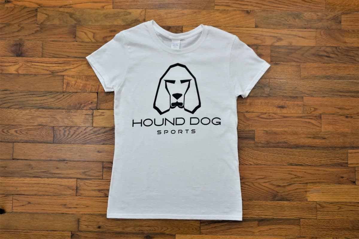 OG Hound Dog Sports Ladies T-Shirt White